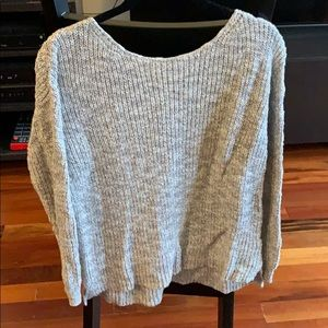 Gray Madewell sweater. Excellent condition